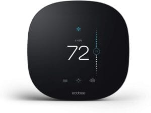 Ecobee smart thermostat for heating and cooling units