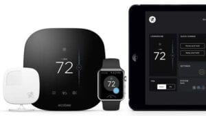 Ecobee 5 thermostat works on all smart devices