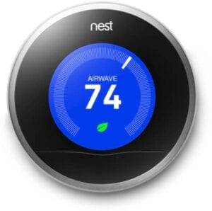Nest Thermostat for heating and cooling