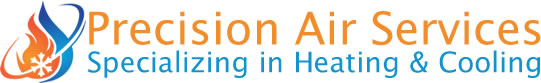 Precision Air Heating and Cooling Logo